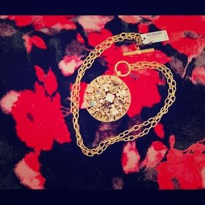 Henri Bendel long chain necklace